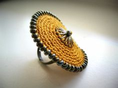 "Ring ""Narcis"" by Limetka123 on Etsy"