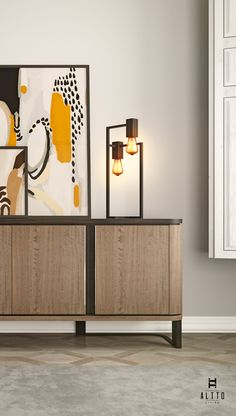 ALTTO | MALLOW | Sideboard | SESAME | Table Lamp | Contemporary Living room decor inspiration