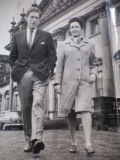 Earl and Countess of Harewood. The Earl of Harewood grew up at Goldsborough Hall during the Queen Elizabeth Ii Reign, Queen Mary, House Of Windsor, English Royalty, Royal Princess, King George, British History, Queen Victoria, Descendants
