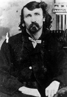 Alfred Packer photographed by Frank E. Deane in 1886. Packer, the Colorado cannibal, enlisted in Company F of the 16th U.S. Infantry Regiment at Winona, Minnesota in 1862 but was later discharged due to his epilepsy. #civilwar #alfredpacker