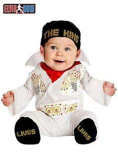 Newborn Elvis Onesie Costumeclass=