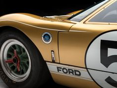 RM Sotheby's versteigert legendären Le Mans-Ford in Monterey Bmw Classic Cars, Classic Mustang, Ford Gt40, Le Mans, North Carolina, Nascar, Ford Motorsport, Ford Shelby, Best Muscle Cars