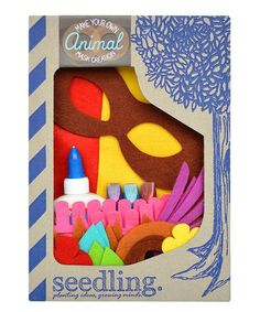 Look what I found on #zulily! Become Your Own Animal Kit by Seedling #zulilyfinds