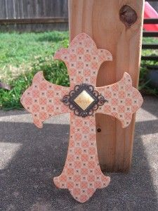 decorative wooden crosses | Decorative Wooden Cross Fun for an Easter by... | Shop interior_design ...