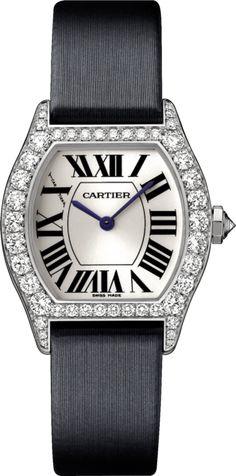#Cartier Tortue White Gold #Watch