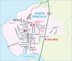 SAY NO to the White Pine Bay Highway 88 Bypass  (Protect Historic Bates Motel) Click on the map for directions.