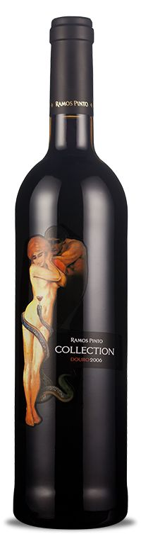 """Adam and Eve,"" Ramos Pinto Collection 2006 for all our #wine loving #packaging peeps PD"