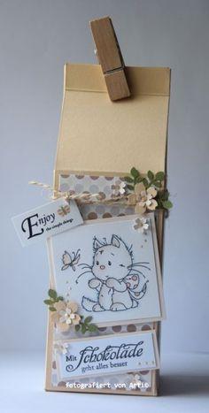blog.karten-kunst.de - Milk Box. Milchtüte. Karten-Kunst Weise Worte Schokolade, Wee Stamps Playful Kittens