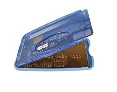 PORTE CARTE RIGIDE MILANO VENTE TRANSLUCIDE – MARQUE TOCADIS: Protège jusqu'à 2 cartes format carte bancaire 8,6 x 5,4 cm. Epaisseur 70/100…