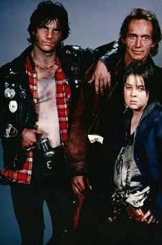 """The men of """"Near Dark"""". And yes that is Bill Paxton (1987)"""