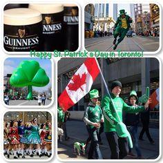Happy St. Patrick's Day in Toronto 2016!!