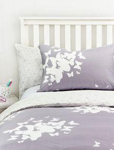 Reversible Twin XL Duvet Set - Believe/Pinwheel - Duvet Covers + Quilts - Bedding - Dorm + Apt