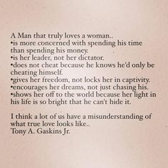 when a man loves a woman quotes - Google Search