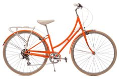 The Public C7 Creamcycle bike features a cream leather seat and leather grips. Started by Design Within Reach founder Rob Forbes, Public Bikes offers city bikers a smart and sensible-riding bike that not only looks great, but they ride great too.