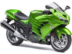 The Kawasaki Ninja ZX 14R, this bike is Way Kewl!