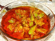 Herbs, Spices and Tradition: MANGO PICKLE