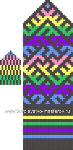 mitten pattern