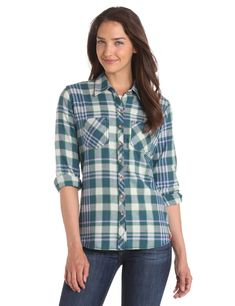 Dickies Women s Flannel Shirt ( 21.99) - Very nice and soft. - Too big 8face9a1ba
