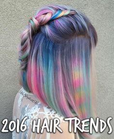 Hair by  Ash Fortis (aka xostylistxo). Click so see what the big trends for 2016 will be...
