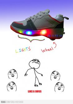 MINE NEVER HAD LIGHTS!! Almost broke my neck a few times on these bad boys