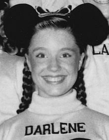 "Darlene Gillespie, star of ""The Mickey Mouse Club"" Disney Animated Films, Disney Films, Walt Disney, Disney Mickey, Singing Lessons, Dance Lessons, Tim Considine, Original Mickey Mouse Club, Disney Fun Facts"
