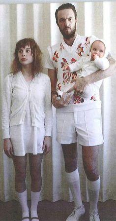 Watkin Tudor Jones & Anri du Toit - aka 'Die Antwoord' with daughter Sixteen!