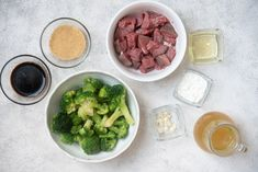 Instant Pot Beef and Broccoli (Quick and Easy!) - Corrie Cooks Beef Recipe Instant Pot, Instant Recipes, Instant Pot Dinner Recipes, Beef Steak Recipes, Crockpot Recipes, Cooking Recipes, Meatball Recipes, Veggie Recipes, Salad Recipes