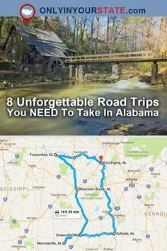Travel Alabama Road Trips Bucket List Places To See Amazing Places Explore Alabama Alabama Vacation, Vacation Trips, Vacation Spots, Day Trips, Alabama College, Family Vacations, Alabama Football, College Football, Vacation Ideas