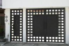Resultado de imagen para portones de hierro modernos