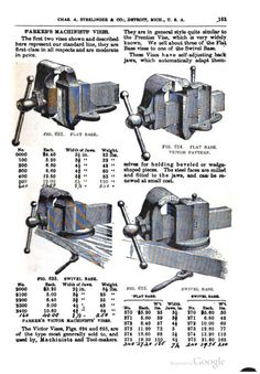 Image result for parker vise catalog