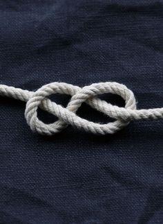 Sailors Love Knot looks like infinity