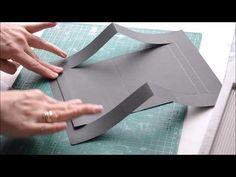 """Интерактивная конструкция """"Объемные фото""""/ Рop up конструкция МК - YouTube Fun Fold Cards, Pop Up Cards, Cute Cards, Mini Scrapbook Albums, Diy Scrapbook, Origami Templates, Box Templates, Tarjetas Pop Up, Up Book"""