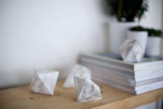 DIY Marble gem Decorations