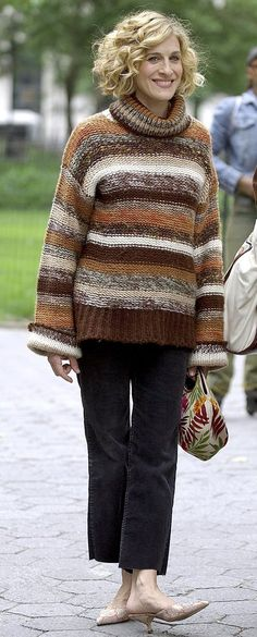 An Oversize Knit Doesn't Have to Feel Bulky