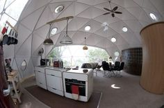 dome home  modern kitchen by Go Glamping