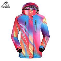 Saenshing Women ski jacket Waterproof 10000 Winter warm snowboarding jackets  breathable outdoor skiing snow jacket ski dc426f5cf