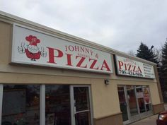 Speedpro Signs Barrie completed this first sign for Johnny & Rogers Pizza in Alliston, ON. This was an old sign and they had to clean to get all the layers of older signage and glue off of it. It was very labour intensive! They received the graphics and then they installed the new sign. They did such a great job that the owner is now having them quote on replacing the second sign box with a new unit and updating that sign to complement and match with the one they just completed! Well done!