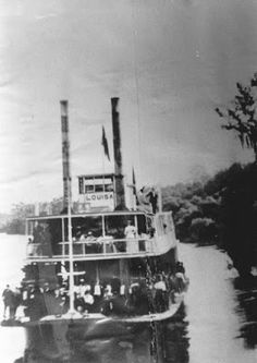 Laurens County Georgia - The Early Years of shipping on the Oconee River