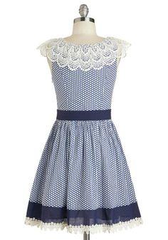 Blueberry Muffin Dress, #ModCloth