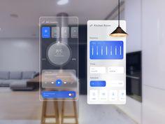 Smart Home App Smart Home, App Design, Cool Stuff, Room, Studio, Kitchen, Smart House, Bedroom, Cooking