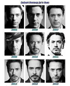 Robert Downey Jr. - not getting older, just getting better-looking.