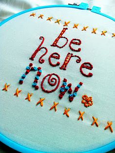 Cute, free embroidery tutorials