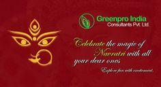 Happy Navratri from GreenPro India