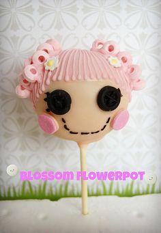 blossom flowerpot   lalaloopsy cake pop