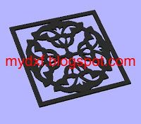 dxf ornamental,Design 438 CNC DXF