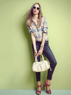 Current/Elliott + Equipment - Fashion Index | Bloomingdale's