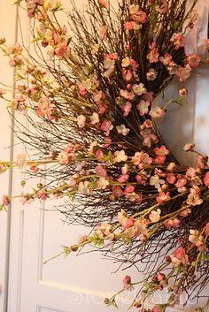 Spring Wreath #DIY