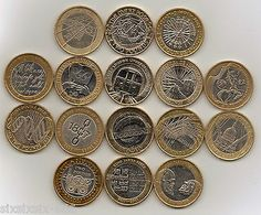 #Various commemorative (circulated) #bi-colour metal £2 pound #coins,  View more on the LINK: http://www.zeppy.io/product/gb/2/371565707358/