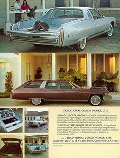 1975 Cadillac Mirage Sports Wagon