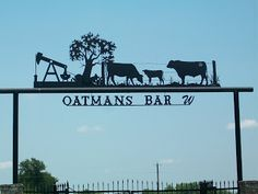 Rebecca Raves and Rants: Wide Open Spaces and Ranch Gates